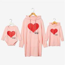 Модная одежда для мамы и дочки; Толстовки на тему любви одинаковые