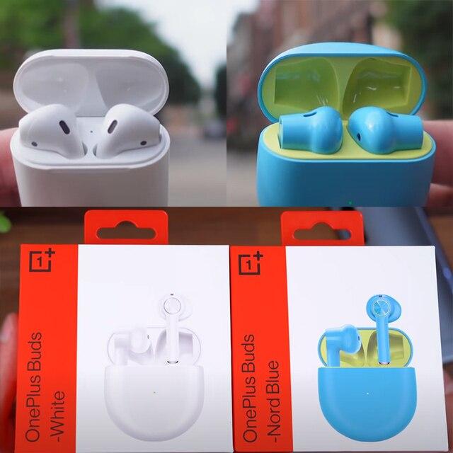 אוזניות בלוטוס עם מיקרופון ביטול רעשים וקופסת טעינה 4
