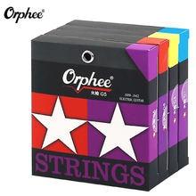Orphee 6 шт/компл электрогитарные струны новые g4 g5 g6 g7 серии