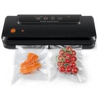 Household Multi Function Best Food Vacuum Sealer Saver Home Automatic Vacuum Sealing Packer Plastic Packing Machine Bags UK Plug|Vacuum Food Sealers| |  -