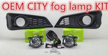 Fog Light Lamps  Kit for HONDA CITY  2014 2015 2016