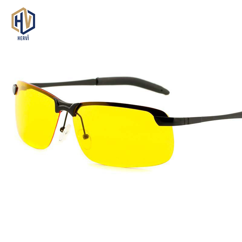 Glasses Driving-Goggles Yellow-Lens Night-Vision Driver For Safety Male Fashion Men New-Design