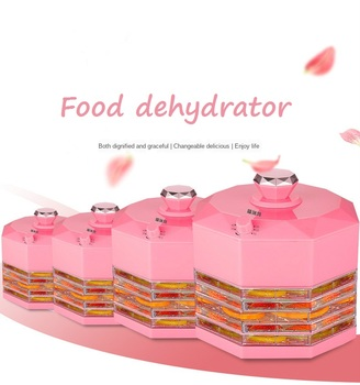 Small Foodstuff Dryer Fruit Dehydrator Household Fruit and Vegetable Dissolved Bean Pet Meat Food Air Dryer Food Dehydrator dried fruit machine dehydration air dryer fruit and vegetable pet meat food dryer