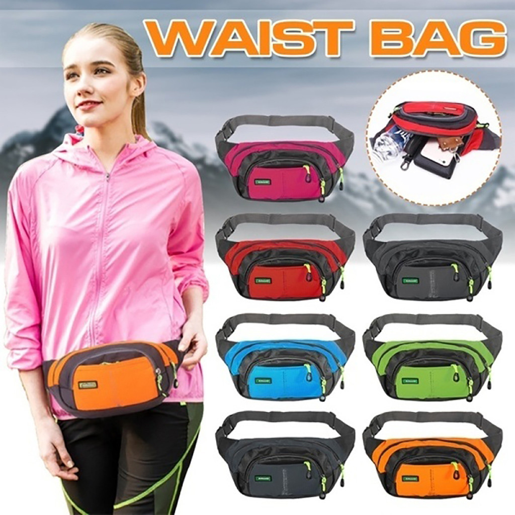 Unisex Sport Waist Pack Bags Running Travel Waterproof Pockets Phone Wallet 2020 Hot New Products Spot Supplier Dropshipping Hot