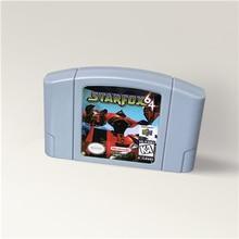 Cartucho de juego Star Fox 64 para 64 bits, versión de EE. UU., formato NTSC