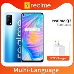 Reyno Q2 5G 4GB 128GB Dimensity 800U Octa Núcleo Mobile Phone 6.5 ''120Hz 30W Carregador Rápido 48MP Fullscreen 5000mAh Bateria Da Câmera