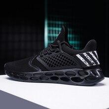 2019 yeni sneakers erkekler büyük boy 39 46 eğitmenler hafif yetişkin tasarımcı yaz moda nefes rahat ayakkabılar erkekler # ABG19