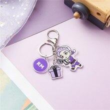Bangtan7 BE Same Purple Keychain (7 Models)