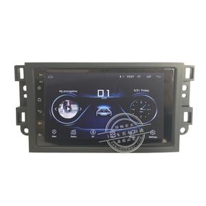 HANGXIAN 2 din Android 9,1 автомобильное радио для Chevrolet Lova Captiva Gentra Aveo Epica 2006-2011 Автомобильный dvd Плеер автомобильные аксессуары