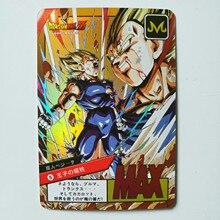 6 шт. Duivel Vegeta супер Dragon Ball-Z герои битва карточная игра Коллекция аниме Kaarten