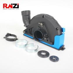 Raizi пылеуловитель для углового шлифовального станка 4,5, 5 дюймов алмазная пила Лезвие пылеуловитель Насадка крышка инструмента