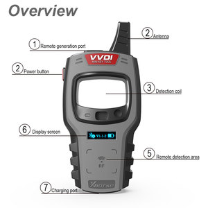 Image 3 - Xhorse VVDI Mini Key Tool Remote Key Programmer Support IOS and Android VVDI Key Tool Global Version Get 10pcs Free Super Chip