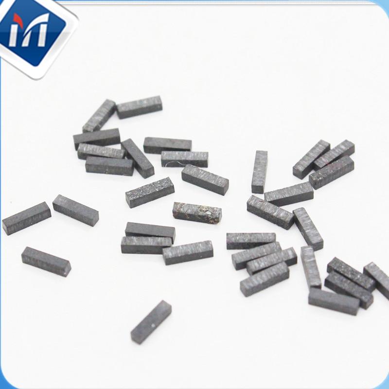 Chemical Vapor Deposition CVD 1X1X2mm 0.8X0.8X2mm Thick Film CVD Diamond Wafer Dresser Logs