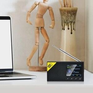 Портативное Bluetooth цифровое радио DAB/DAB + и fm приемник перезаряжаемое легкое домашнее радио|Радиоприёмники|   | АлиЭкспресс