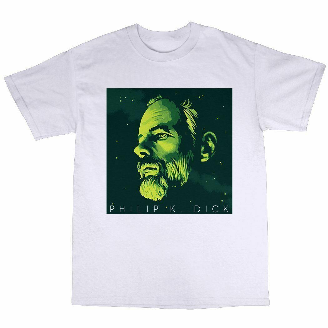 Philip K. Dick T-Shirt 100% Cotton Ubik A Scanner Darkly Blade Runner Valis New Men