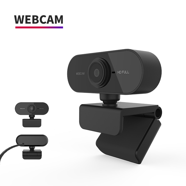 HD 1080P Webcam Mini Computer PC WebCamera with Microphone Rotatable Cameras for Live Broadcast Video Calling Conference Work 6
