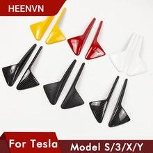 Heenvn новые аксессуары для tesla model 3 y s x 2021 боковая