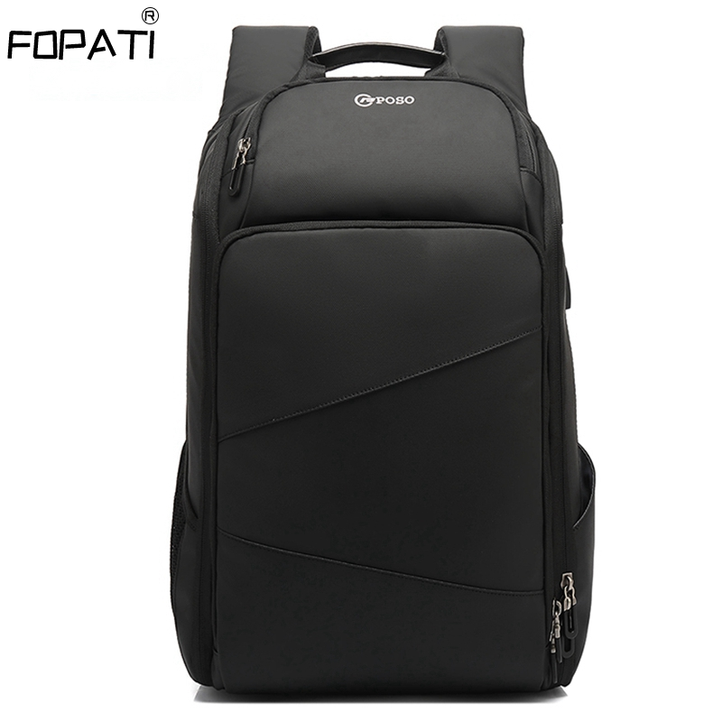 Men's Travel Bag Backpack Men Large School Backpacks For Teens USB Charging 17.3 Inch Laptop Backpack Waterproof Male Mochila