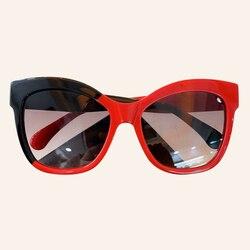 Mode Hit Farbe Cat Eye Sonnenbrille 2020 Neue Frauen Marke Designer Brille Hohe Qualität Splice Farbe Sonnenbrille