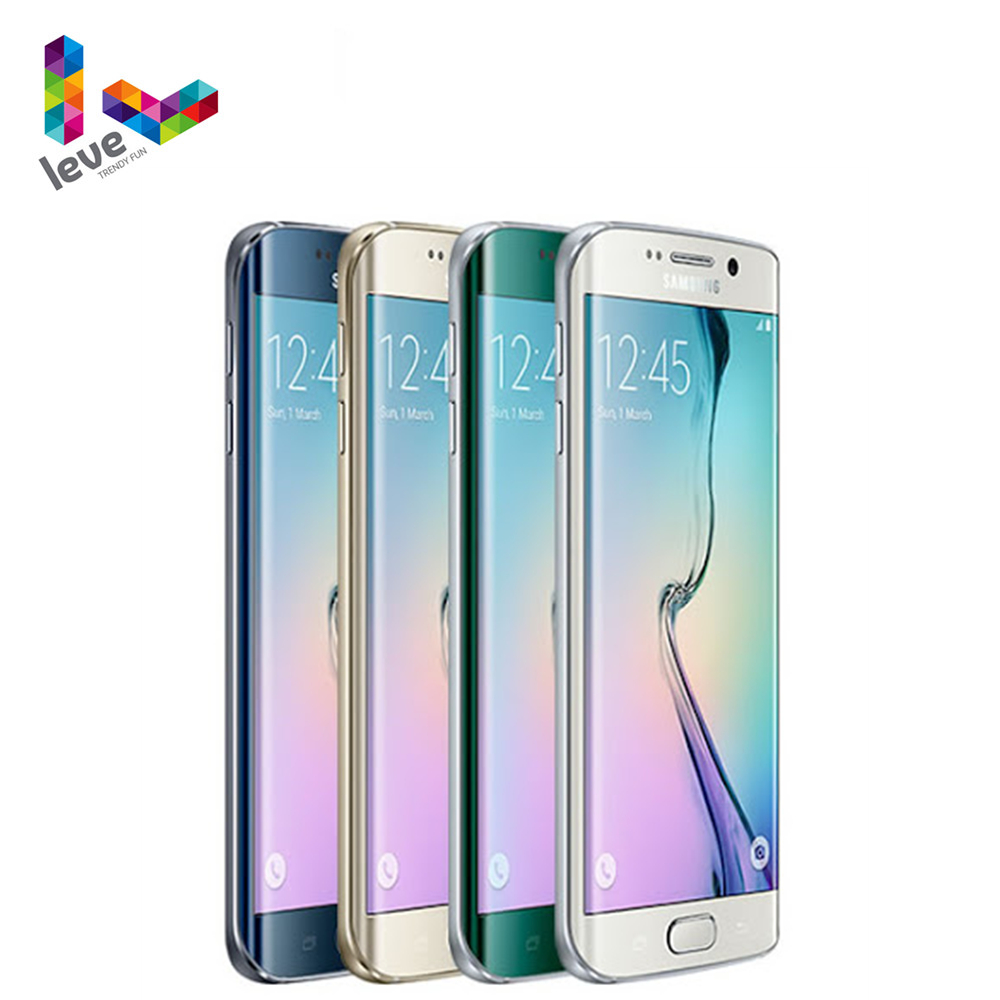 "Original Unlocked Samsung Galaxy S6 Edge G925F Mobile Phone 5.1"" 16MP 3GB RAM 64GB ROM Octa Core 4G LTE Android Smartphone