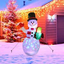 Надувной снеговик 15 м раздувные рождественские украшения с