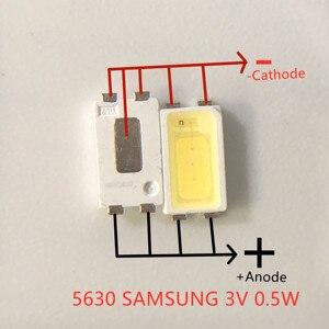 Image 2 - 2000 pces para samsung led backlight 0.5w 3v 5630 branco fresco lcd backlight para tv aplicação spbwh1532s1zvc1bib