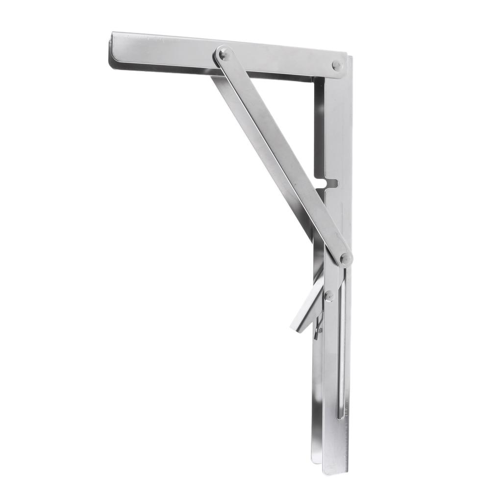 "Marine Boat Foldable Bench Shelf Table Bracket Support Stainless Steel 12/"""
