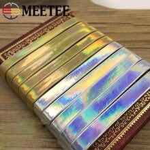 Meetee – ruban en or et argent de 5 mètres, sangle en corde de 5 à 30mm de largeur, bricolage, vêtements faits à la main, artisanat bijoux accessoires