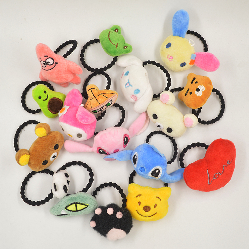 New Kids Hairband Headband For Girls Cute Kawaii Korean Style Head Band Plush Hair Hoop Accessories Headband Gifts