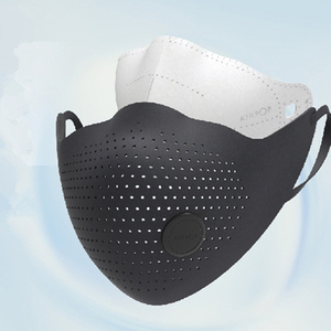 Image 5 - AirPOP Air Wear PM0.3/PM2.5 Anti haze Face Mask With 2Pcs Filter Adjustable Ear Hanging Comfortable Adult Face Mask