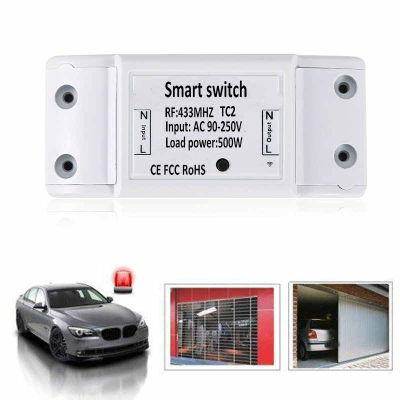 Inteligentny przełącznik DIY bezprzewodowy pilot zdalnego Domotica światła automatyki inteligentnego domu przekaźnik moduł kontrolera odbiornik dla inteligentnego światła do domu