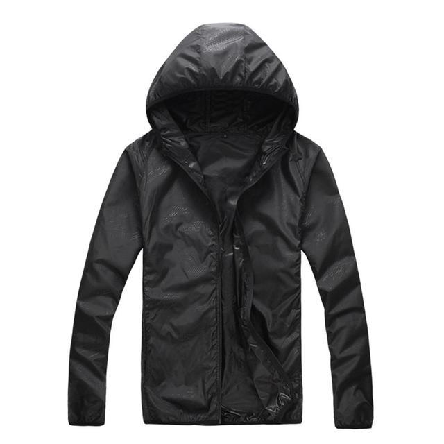 Quick Dry Skin Coat Sunscreen Waterproof UV Women thin Army Outwear Ultra-Light Windbreake Jacket Women Men Windproof Coat Jacke 3