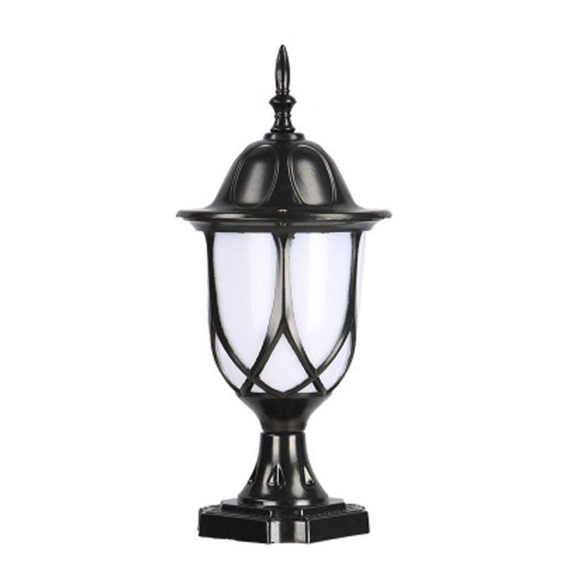 Pillar Lamp Outdoor Wall Lamp Post Column Lamp Wall Lamp Engineering Lamp Waterproof Villa Door Lamp LED Antique