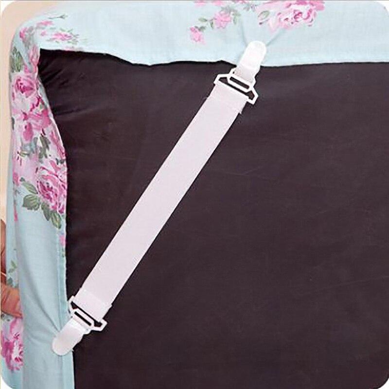 4 шт. треугольные зажимы для простыни, пряжки для кровати, эластичные застежки, держатель для матраса, покрывало, одеяла, ремни-Подвески