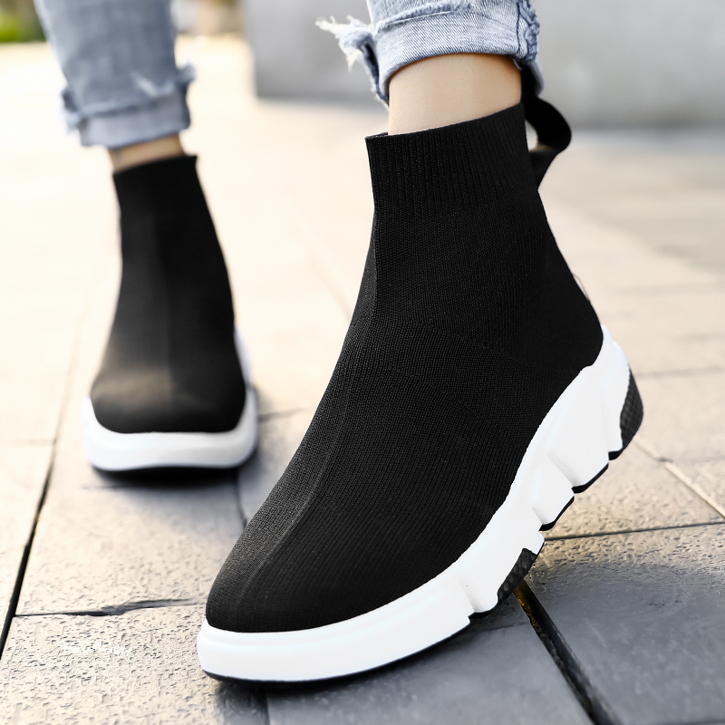 YRRFUOT Women Casual Shoes Outdoor Light Breathable Fashion Sneaker For Woman 2020 Flats Shoes Zapatillas Mujer Women Sneakers