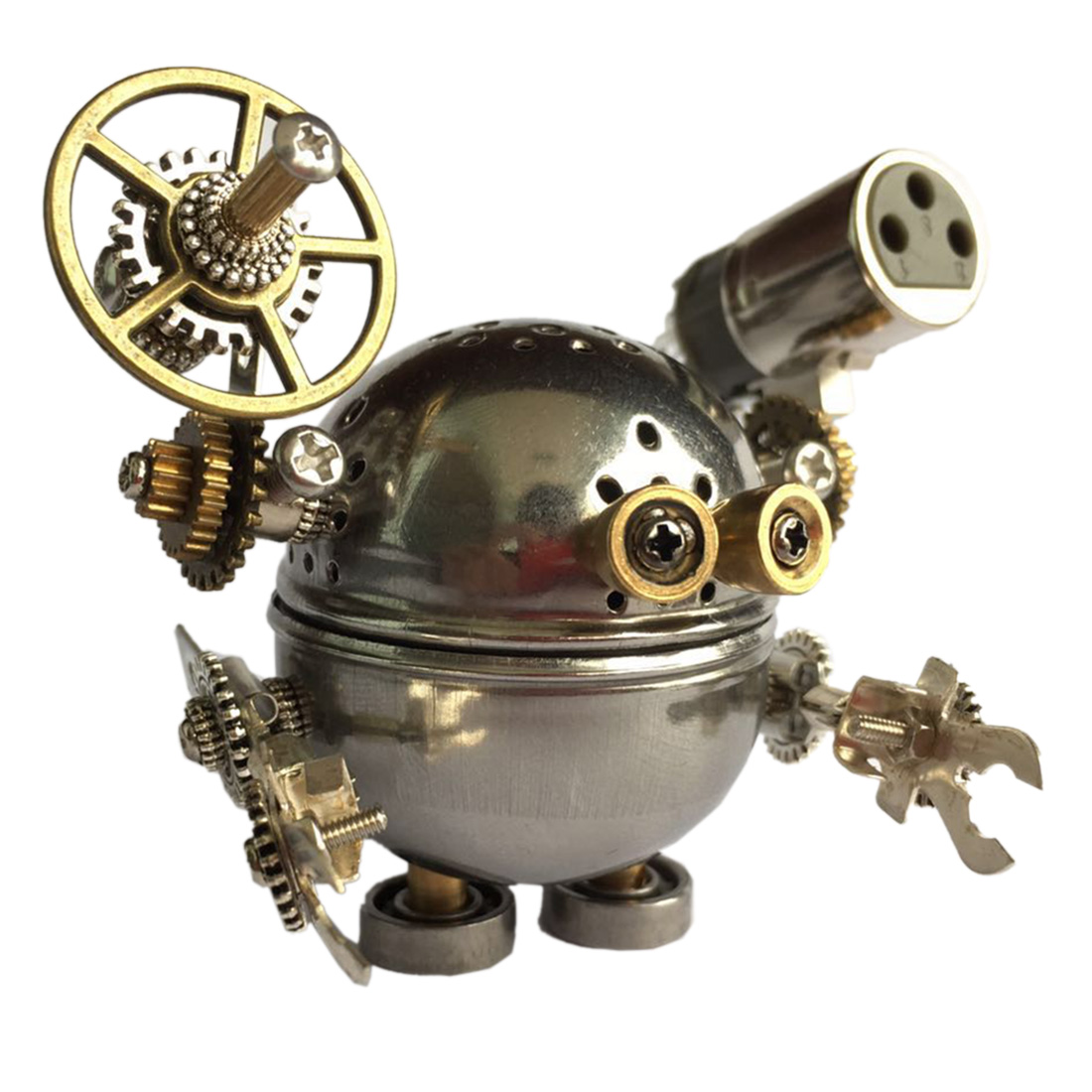 Creative Gift DIY Assembled Model Kit Metal Cartoon Figure Model Ornaments Home Office Decor Art Educational