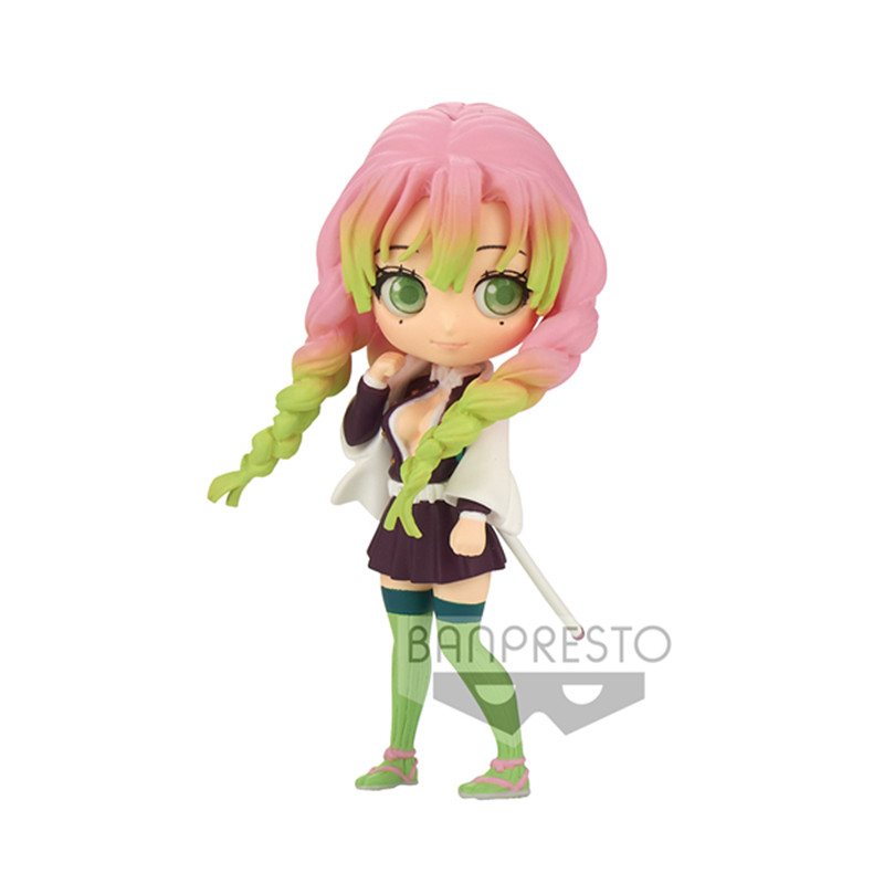 Pre Verkauf Dämon Slayer Anime Abbildung Q Posket Modelle Kanroji Mitsuri Aniem Figural Figurine Peripherie Sammlung Modelle Kanroji