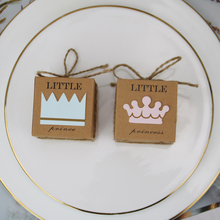 Gifts Box Candy-Box Birthday-Party-Decoration Shower-Dragee Wedding-Favors Prince Baptism