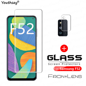 Image 1 - Film en verre trempé pour Samsung Galaxy F52 5G, Film de protection pour objectif dappareil photo