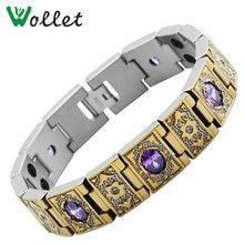 Wollet золотые украшения Титан браслет Цепочки и ожерелья женские