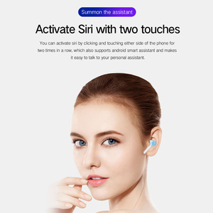 Image 4 - True Wireless Earbuds Bluetooth 5.0 Wireless Earphones Active Noise Canceling with 3000mAh Power Bank Touch Headphone Rogbid G9
