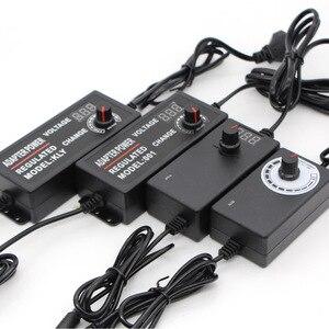 Adjustable led Power Adapter Supply AC 110V 220V To DC 3V-12V 3V-24V 9V-24V Display Screen Charger Lighting Transformer Switch