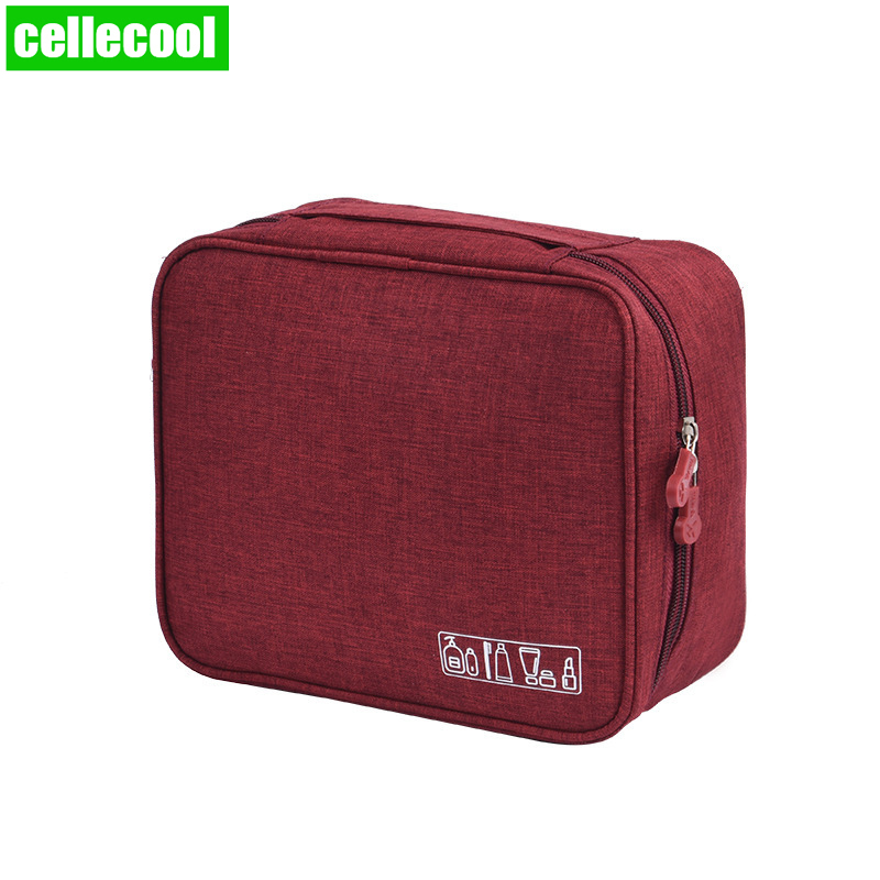 Multifunction Brand Women cationi Cosmetic Bag Organizer Waterproof Portable Makeup Travel Necessity Beauty Case Wash Pouch