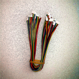 Mini micro JST 1,25 2/3/4/5/6/7/8/9/10/11/12 контактный разъем с проводом 1,25 мм 10 см 15 см 20 см одиночный/двойной головка