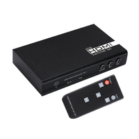 3 In 1 Out Video HDMI Audio Switch Switcher 1080P 60HZ 7.1CH 4Kx2K HD For PS3 PS4 HDTV DVD For Xbox360