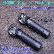 Jaxman lâmpada de mesa de peito e1, estilo l, led, 18650, com clipe de liberação rápida, ímã forte