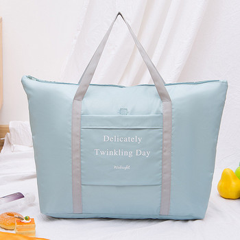 Portable Waterproof Folding Storage Bag Shoes Clothes Luggage Organizer Packing Cube Bag Foldable Case Travel Pouch