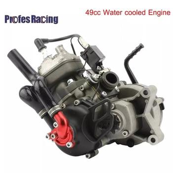 Silnik motocyklowy 49CC chłodzony wodą silnik wysokoprężny dla 05 50 SX 50 SX PRO SENIOR motor terenowy pitbike krzyż z Start dźwignia