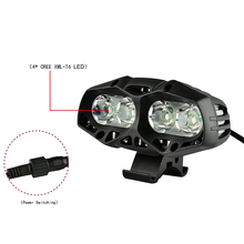 Bicycle Headlights LED Bikes Front Light Outdoor Sports Cycling Head Lamp Set for MTB Bike Accessories