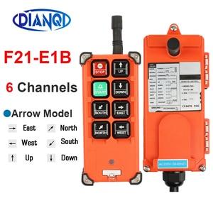 Image 4 - F21 E1B F21 2S AC 220V 110V 380V 36V DC 12V 24V wireless Industrial remote controller switches Hoist Crane Control Lift Crane